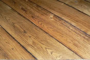 Distressed Oak Floor