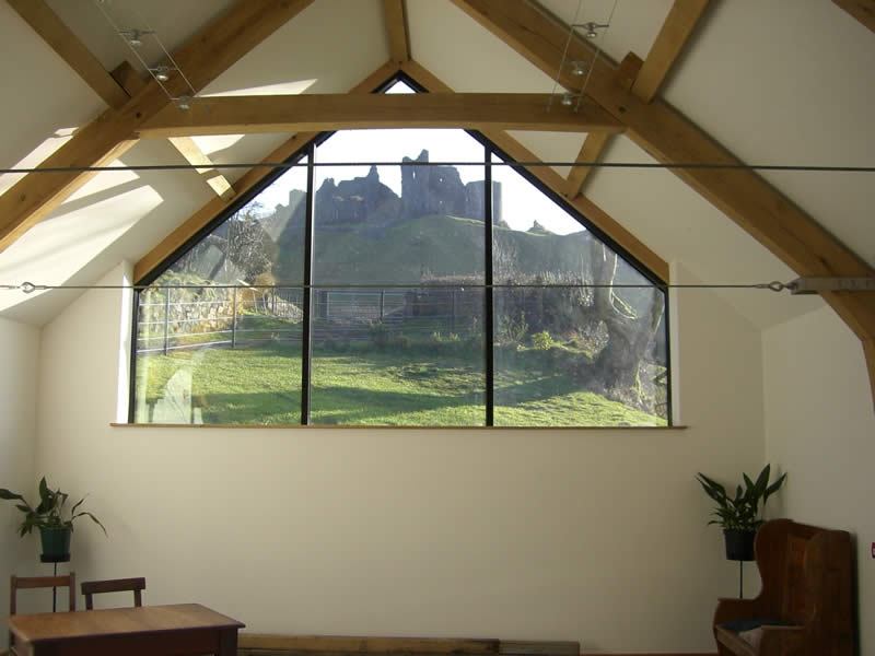 Cottage Oak - Oak framed Structures, garages, extensions, sun rooms - Carmarthenshire, South Wales
