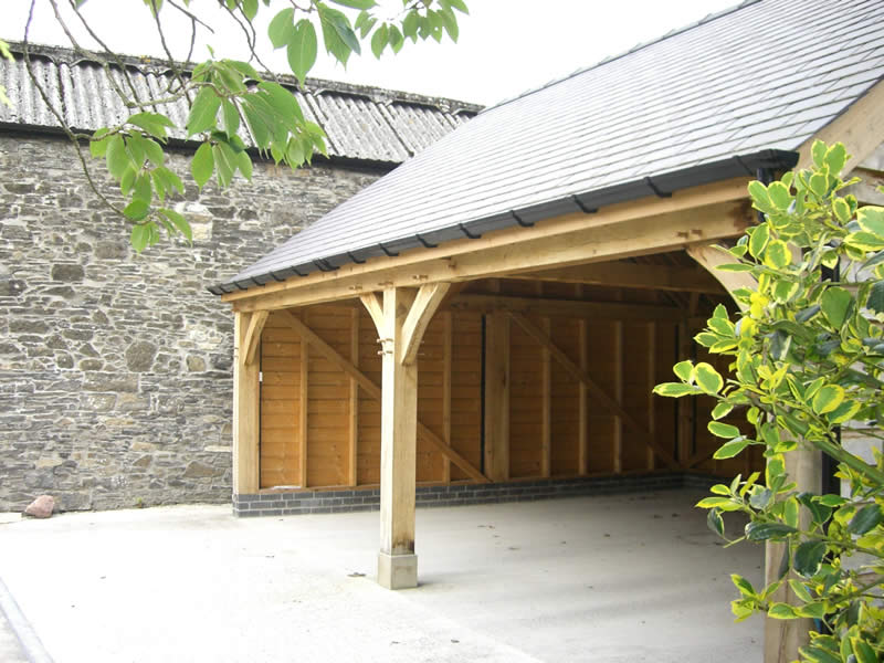 Oak Car port