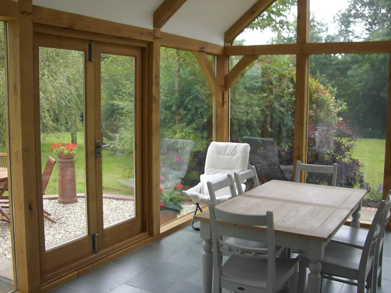 Cottage Oak Framed Structures Garages Extensions Sun Rooms Carmarthenshire South Wales