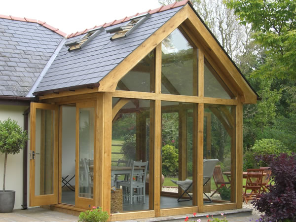 Large Wooden Garden Rooms: Oak Framed Structures, Garages, Extensions
